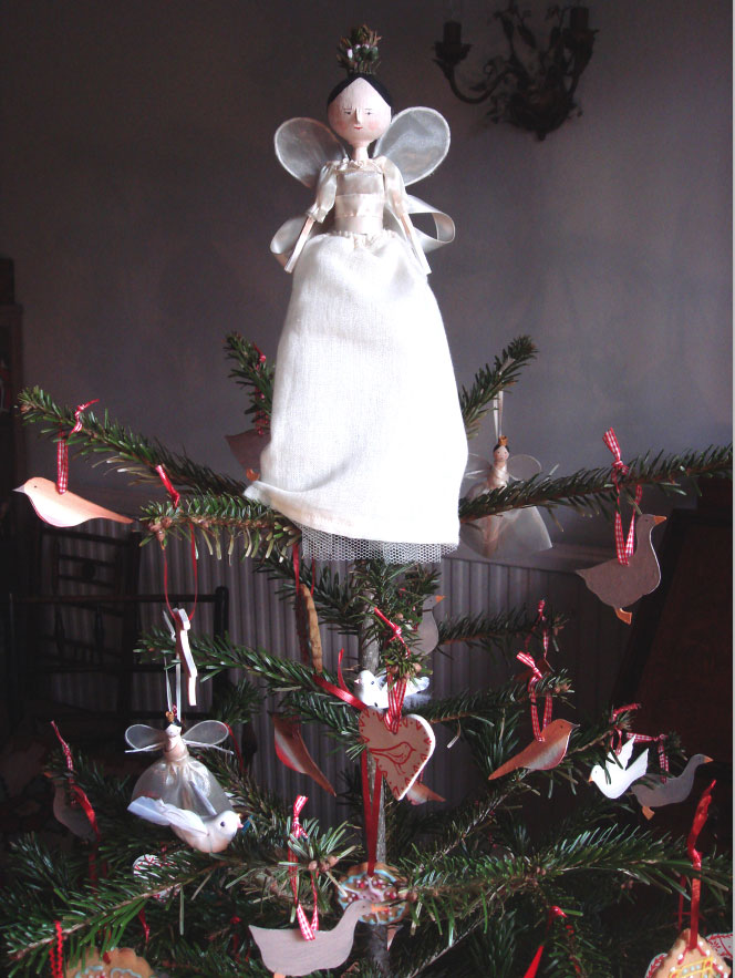 Handmade Fairy on the Christmas tree Elizabeth Harbour
