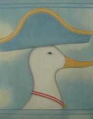 'Admiral Duck' by Elizabeth Harbour - an original acrylic painting