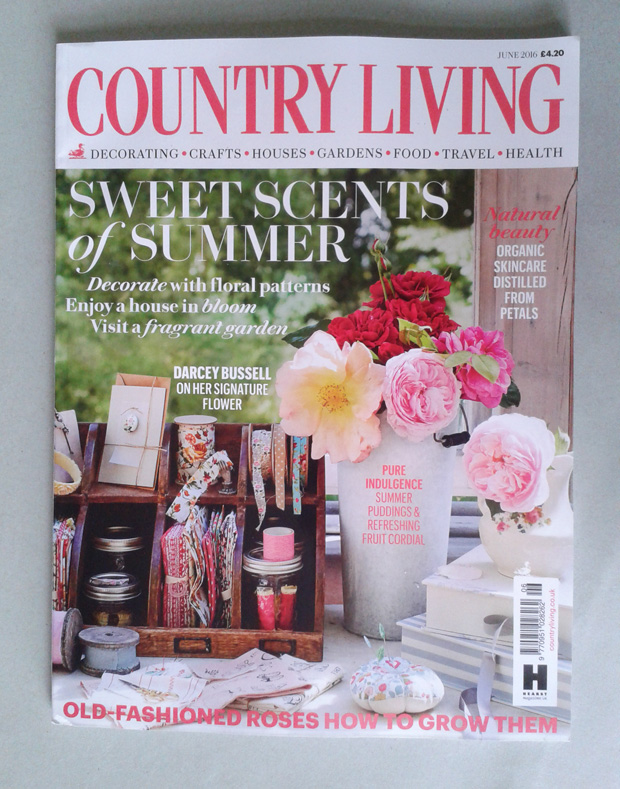 'Craft ideas to Inspire' in Country Living Magazine June 2016