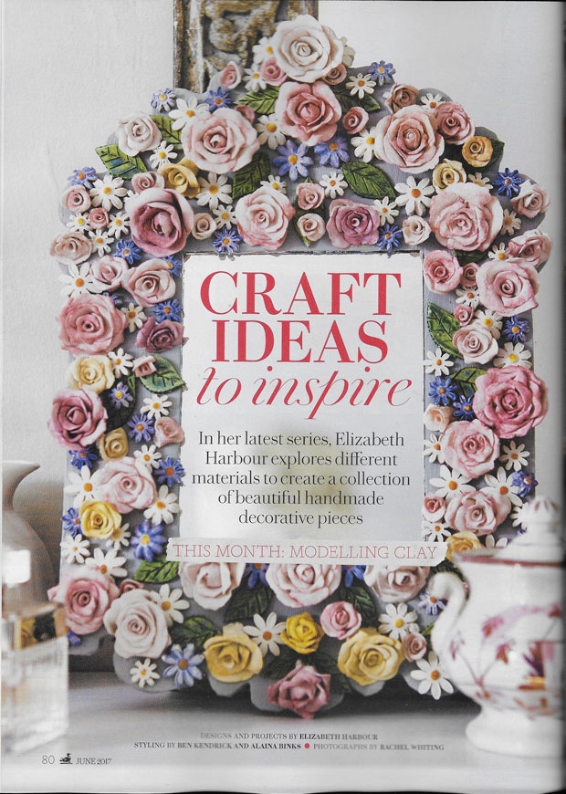 Craft ideas to inspire Country Living Magazine June issue