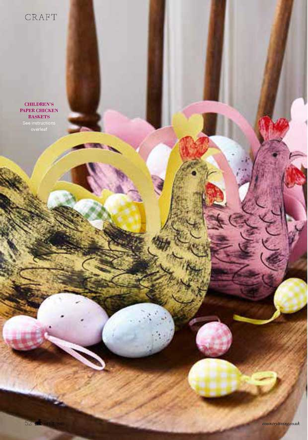 Easter Craft Ideas to inspire by Elizabeth Harbour