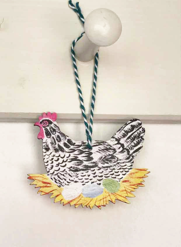 Hen decoration