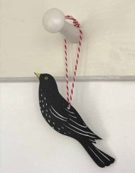 Blackbird decoration