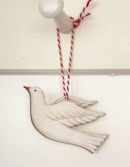 Flying dove decoration