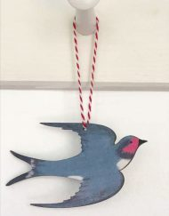 Swallow decoration