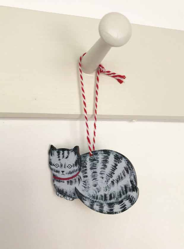 Cat decoration