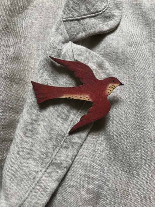 Bird Brooch,