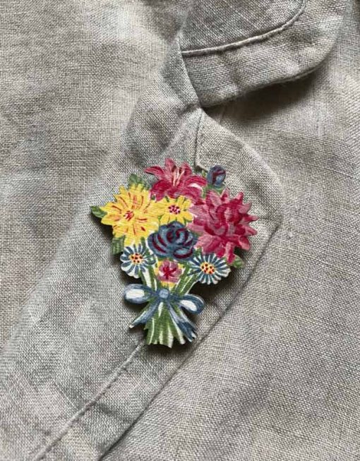 Autumn-flowers-brooch