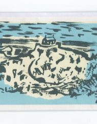St Ives Island greeting card
