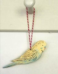 Budgerigar decoration