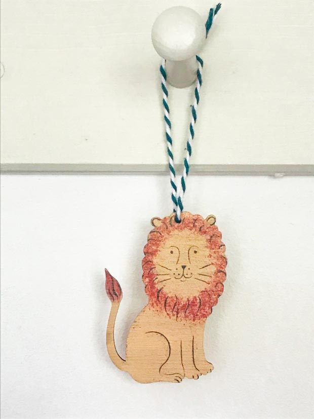 Friendly Lion decoration