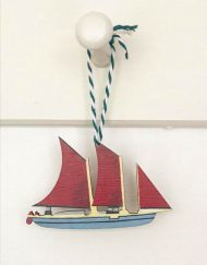 Oyster Boat decoration