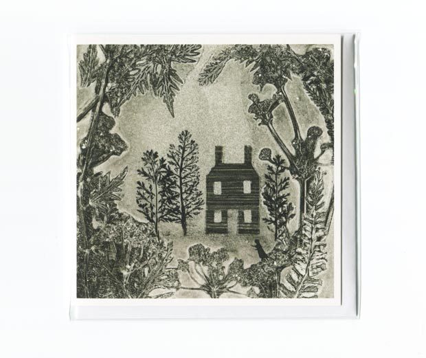 The House in the Woods greetings card