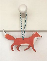 Walking Fox decoration