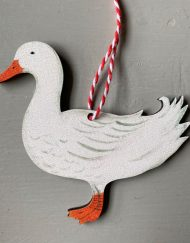 Duck Wooden Decoration