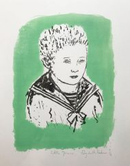 'Little Prince' original limited edition lithograph by Elizabeth Harbour