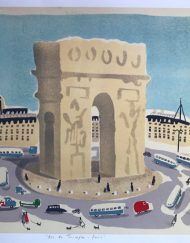 'Arc de Triomphe - Paris' by Elizabeth Harbour