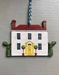 Clapboard House wooden decoration by Elizabeth Harbour